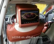 "New Universal Mount 9"" Headrest HD Panel Monitor Dvd Player USB SD Game"