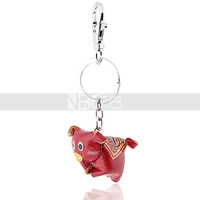 Accessories New Arrival Personalized Handbag Pig Leather Keychain