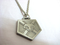 bleach death god certification necklace medal
