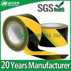 black yellow hazard warning safety reflective construction tape