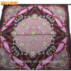 Large size lady beautiful paisley square fashion italian pashmina scarf