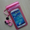 universal pvc cell phone waterproof bag for iphone