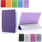 Tri-Fold Slim Smart Magnetic Cover Case for Apple iPad Mini Sleep Wake w/ Stand