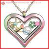 New design high quality heart shape floating locket wholesale