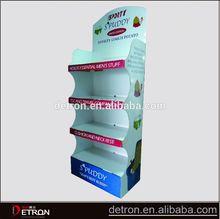 Customized cardboard point of sale display rack