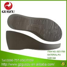 wedge ladies sandals pu sole designs