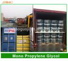 Coating industry, with CAS NO.: 57-55-6, plasticizing agent, dehydrant of Propylene Glycol / Monopropylene glycol / MPG