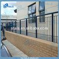 Barandilla de hierro para balcón/cubierta/porche pasamanos al aire libre