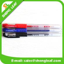 Red black and blue color pen gel pens