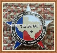 2014 New Custom Metal Texas San Antonio MISSION Religious Lapel Pin mormon lds