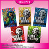 Ex-factory King Kong 3g 5 flavours potpourri aluminum foil bag / herbal incense bags with ziplock