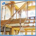 Vidrio de acero inoxidable barandilla de la terraza de vidrio templado barandillas/balaustrada de la escalera