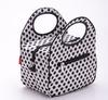 Dotted Fashionable Polyester Travel Set Cooler Bag