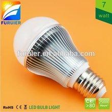 Samsung smd 7w e27 e26 b22 low cost led bulb lights