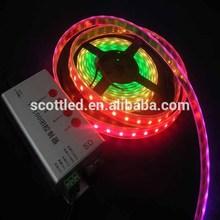 5050 flexible rgb led strip ic ws2812b ws2811 ws2801,60leds/m;60pixels/m,4m/reel,Waterproof IP67