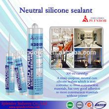 Neutral Silicone Sealant china supplier/ silicone sealant materials use for furniture/ auto glass silicone sealant