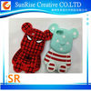 3D Cute Bear Soft Silicone Cover Case for iPhone 4 4s 5 5s 5c