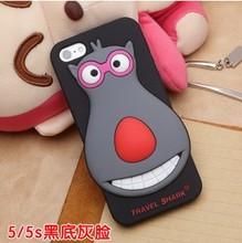 custom ecofriendly silicone cellphone skin case