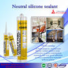 Neutral Silicone Sealant china supplier/ silicone sealant materials use for furniture/ heat resistant silicone sealant