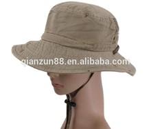 Cotton custom printed cheap bucket hat fashion women summer hats