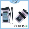 Cheap PVC waterproof bag for iphone 4 4s 5 5s