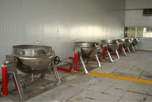 double jacket kettle for dairy