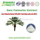 High Quality Inhibit Prostate Hyperplasia Saw Palmetto Extract