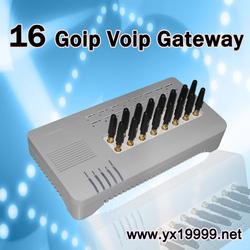 Free international calls, 16 port voip adapter