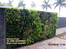 Artificial Vertical Garden Green Wall,Self watering Greenwall,ABS Plastic Flowerplanters