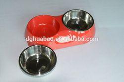 colorful cheap ceramic pet bowl