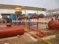 Caliente- venta de neumáticos de desecho para refinar el aceite de la planta de pirólisis/de la máquina