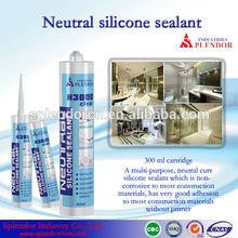 Neutral Silicone Sealant/ household silicone sealant materials use for furniture/ ceramic tile silicon sealant