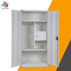 bedroom wardrobe standard design metal steel cupboard price & dimensions