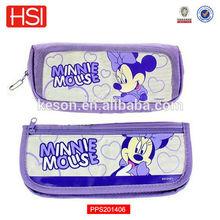 stand up pencil case,wholesale pencil pouch,purple cute pencil case