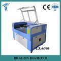 Alumínio cnc máquina de gravura/usada de corte a laser máquinas para venda lz-6090