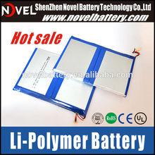2S2P 7.4V 6000mAh High Capacity Lipo Battery tablet battery