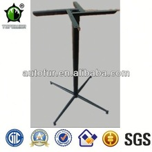 Black metal garden table furniture legs