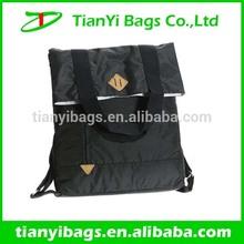 Custom handbag convert to a backpack from a shoulder bag backpack