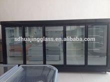 Economic high quality transparent chiller glass door for Australia supermarket