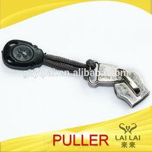 3d promotion custom zipper pull ring