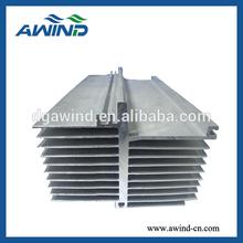 OEM & ODM industry aluminium extrued profiles heat sink for industry