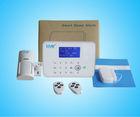 Wireless Intelligent Home Burglar Security GSM PSTN Alarm System