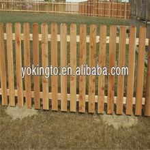 Modèles en bois clôtures