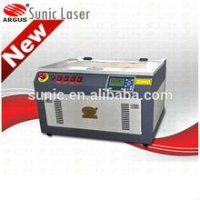 CNC mini 40w 60w 4030 mini craft mini laser engraving machine color customized plague handicraft price