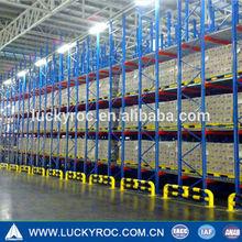 Warehouse lean manufacturing gravity flow racks