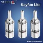 2014 Top Sell Russian Pyrex glass kayfun lite clone/mini Kayfun 3.1 RBA Atomizer Ithaka flash vapor from Vceego
