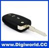 Universal car keys for Vw Golf Passat Polo Bora for 3 Button flip Remote Case