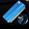 British Business Custom Bic Metal Electric USB Cigarette Lighter Case for Iphone 4/5