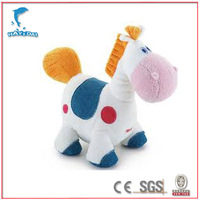 Stuffed horse toy baby toy CE/ASTM-F963/ISO9001 certificated plush toy manufacturer