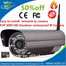 Wholesale Manufacturer 720P HD Wireless Waterproof IP Camera wifi outdoor ip camera digital camera Made in China